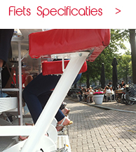 LimoBike Amsterdam Specificaties